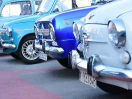 marcha de coches clásicos