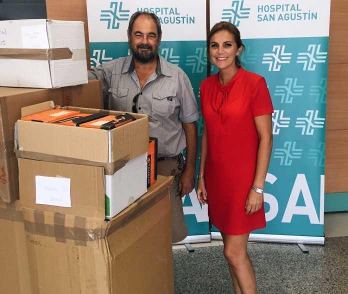 donación a la ONG Nazarena