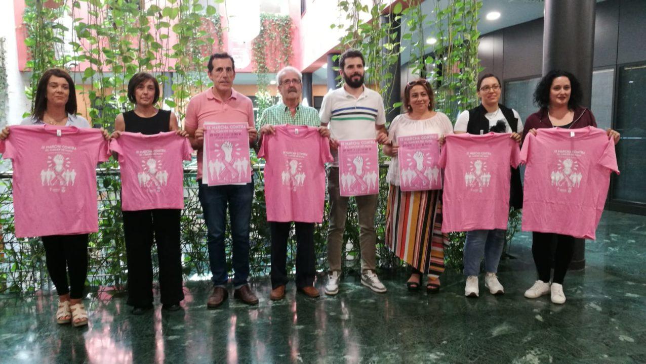 ix marcha contra el cáncer de mama