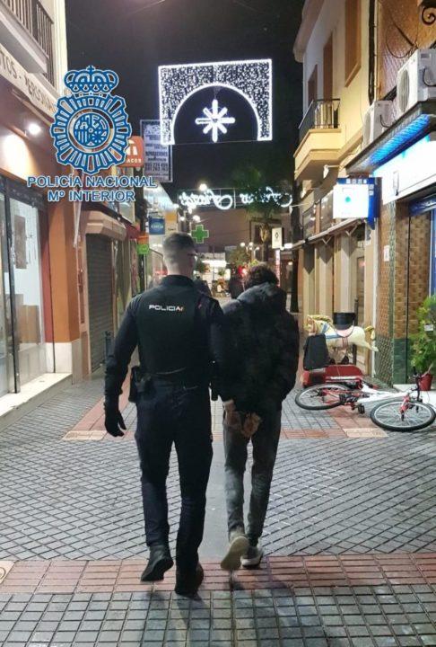 nueve detenciones