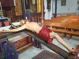 crucificado de la misericordia