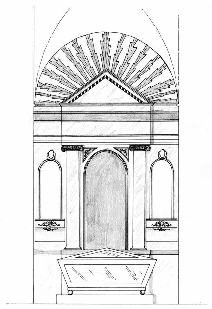 El retablo neoclásico de la virgen de la Soledad de Dos Hermanas