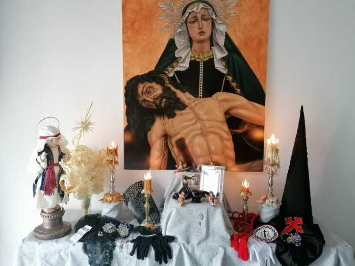 altares en casa