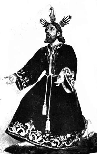 Cristo de la Oración en el Huerto imagen primigenia