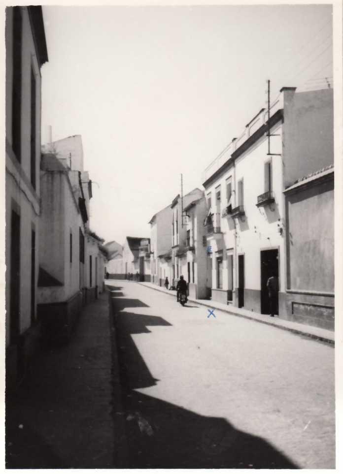 La calle Ejido de Dos Hermanas 1966