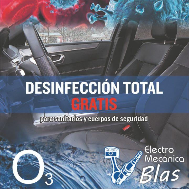 desinfección gratuita