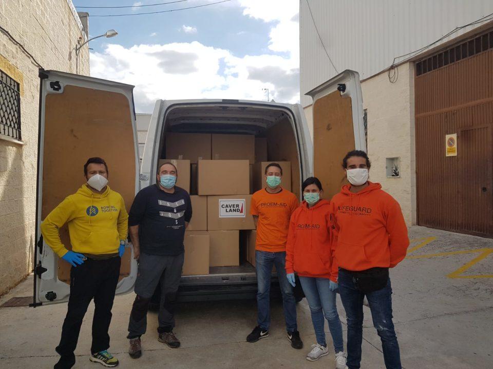 campaña de recogida de ayuda humanitaria